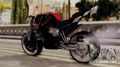 Byson Street Fighter para GTA San Andreas left