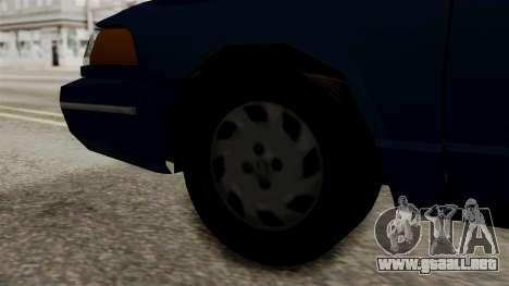 Ford Crown Victoria LP v2 Civil para GTA San Andreas vista posterior izquierda
