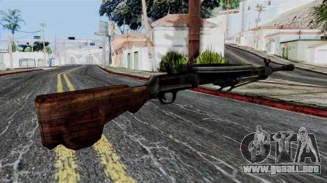 DP LMG from Battlefield 1942 para GTA San Andreas segunda pantalla