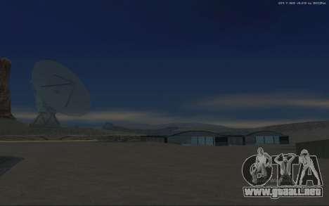 Nueva Base Militar v1.0 para GTA San Andreas undécima de pantalla