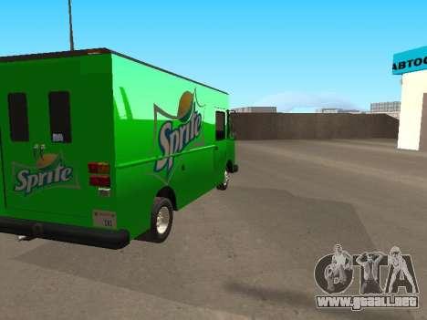 Boxville Sprite para GTA San Andreas left