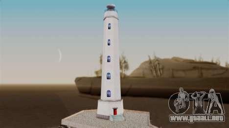 LS Santa Maria Lighthouse para GTA San Andreas