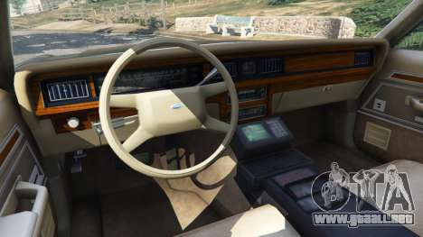 Ford LTD Crown Victoria 1987 LSPD para GTA 5