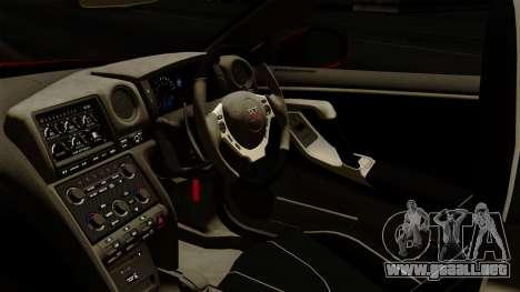 Nissan GT-R Liberty Walk Performance para la visión correcta GTA San Andreas