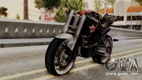Byson Street Fighter para GTA San Andreas