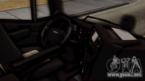 Volvo Truck from ETS 2 para la visión correcta GTA San Andreas