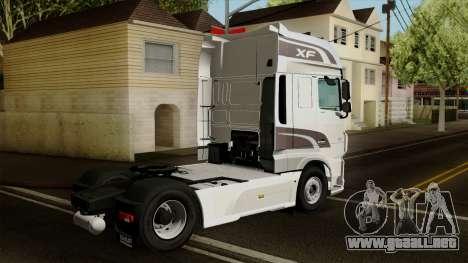 DAF XF Euro 6 SSC para GTA San Andreas left