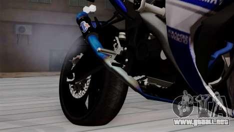 Yamaha YZF R-25 GP Edition 2014 para la visión correcta GTA San Andreas