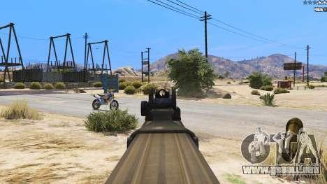 P-90 из Battlefield 4 para GTA 5