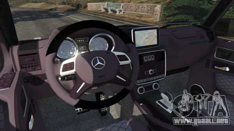 GTA 5 Mercedes-Benz G65 AMG v0.1 [Alpha] vista lateral derecha