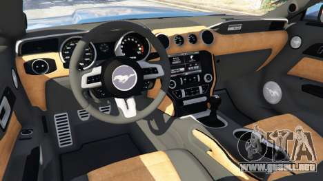 GTA 5 Ford Mustang GT 2015 volante