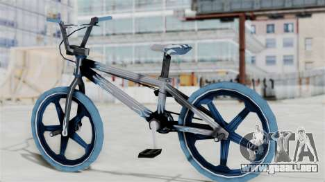 Custom Bike from Bully para GTA San Andreas left