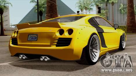 Obey 9F Liberty Works v1.0 para GTA San Andreas left