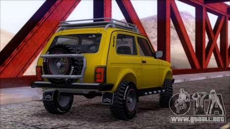 VAZ 2121 Niva Offroad para el motor de GTA San Andreas