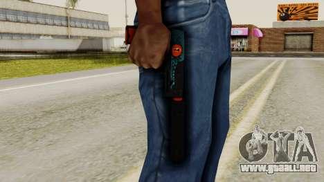 USP-S Caiman para GTA San Andreas tercera pantalla