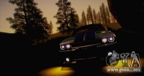 ENB White_SA v1.0 para GTA San Andreas sucesivamente de pantalla