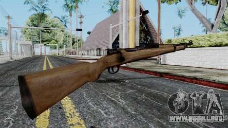 Kar98k from Battlefield 1942 para GTA San Andreas segunda pantalla