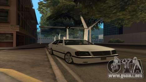 Mercedes Benz W140 S600 para GTA San Andreas