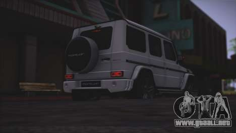Mercedes Benz G65 AMG 2015 Topcar Tuning para vista inferior GTA San Andreas