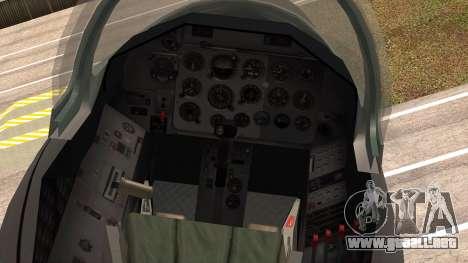 Aero L39 ZA Albatros - Nr. 146 (Romania) para la visión correcta GTA San Andreas