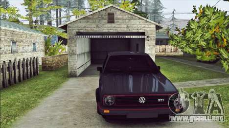 Volkswagen Golf Mk2 Line para GTA San Andreas left
