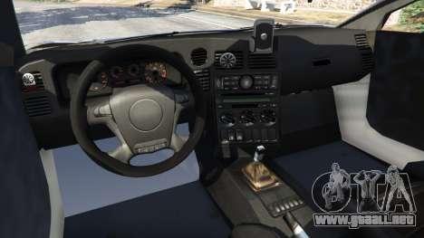 GTA 5 Arrinera Hussarya v1.0 vista lateral trasera derecha