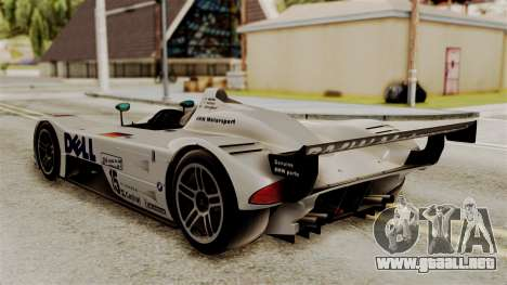 BMW V12 LMR 1999 Stock para GTA San Andreas left