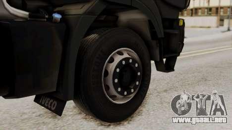 Volvo Truck from ETS 2 para GTA San Andreas vista posterior izquierda