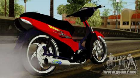 Gilera Smash para GTA San Andreas left