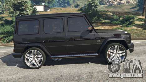 GTA 5 Mercedes-Benz G65 AMG v0.1 [Alpha] vista lateral izquierda