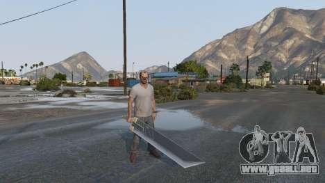 Buster Sword para GTA 5