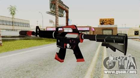M4A1-S Cyrex para GTA San Andreas segunda pantalla