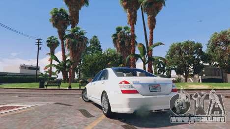 Mercedes-Benz S-Class W221 v0.5.3 para GTA 5