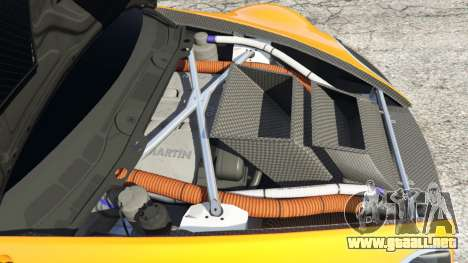 GTA 5 Aston Martin Vantage GT3 vista lateral derecha