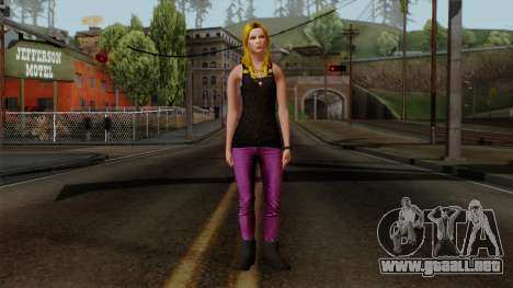 Buffy Vampire Slayer para GTA San Andreas segunda pantalla