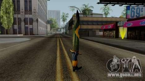 Brasileiro Knife v2 para GTA San Andreas segunda pantalla
