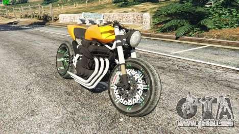Honda CB 1800 Cafe Racer Paint para GTA 5
