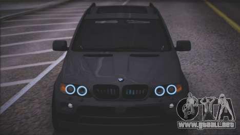 BMW X5 E53 para la vista superior GTA San Andreas