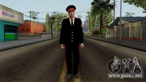 Vice-Sargento Kazan AVC v2 para GTA San Andreas segunda pantalla