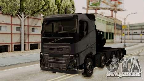 Volvo FH Euro 6 10x4 Exclusive Low Cab para GTA San Andreas