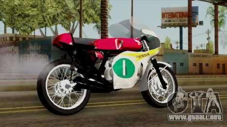 Honda RC166 v2.0 World GP 250 CC para GTA San Andreas left