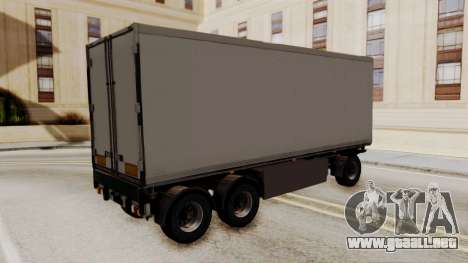 Cooliner Trailer from ETS 2 para GTA San Andreas left