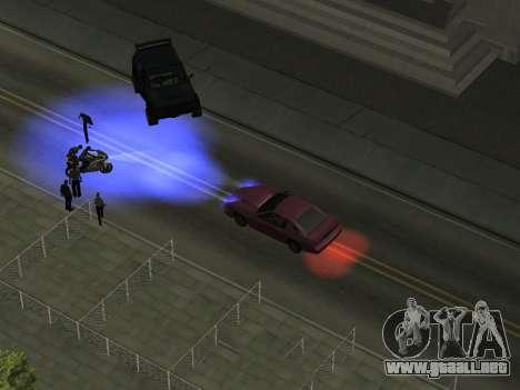 Xenon 2.0 para GTA San Andreas segunda pantalla