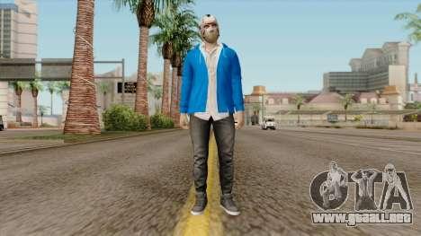 H2O Delirious Skin para GTA San Andreas segunda pantalla