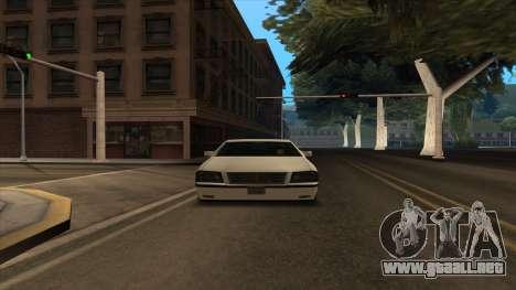 Mercedes Benz W140 S600 para visión interna GTA San Andreas