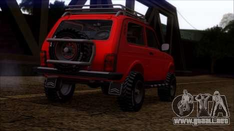 VAZ 2121 Niva Offroad para la visión correcta GTA San Andreas