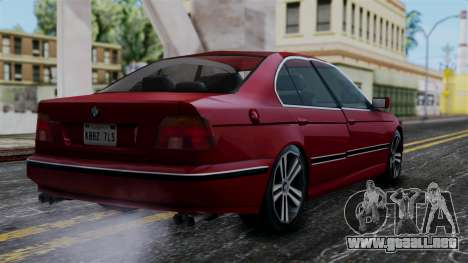 BMW M5 E39 SA Style para GTA San Andreas left