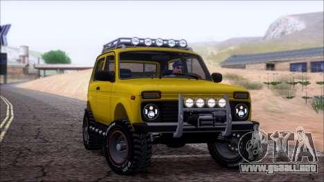 VAZ 2121 Niva Offroad para vista inferior GTA San Andreas