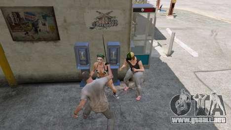 GTA 5 Cimitarra de Skyrim tercera captura de pantalla