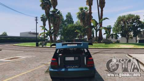 Volkswagen Golf MK3 GTi para GTA 5